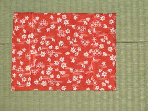 日本手ぬぐい作るブックカバー06