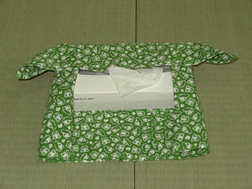 日本手ぬぐい作るティッシュカバー05
