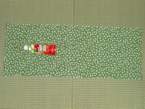 日本手拭いでペットボトルホルダーの作りかた02