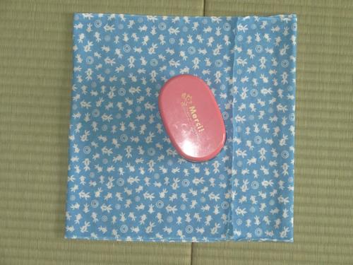 日本手拭いでお弁当箱の包み方04