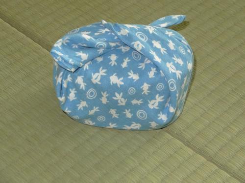 日本手拭いでお弁当箱の包み方07