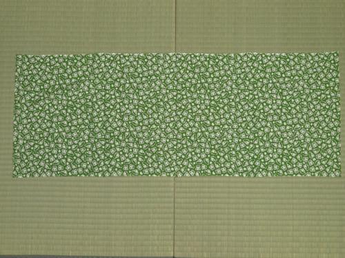 日本手拭いで箸箱の包み方01